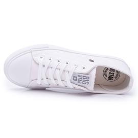 Men's Sneakers Low Big Star White V174347 2