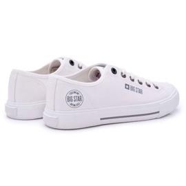 Men's Big Star Sneakers White FF174054 2