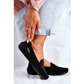 EVE Morreno Women's Black Suede Loafers 2