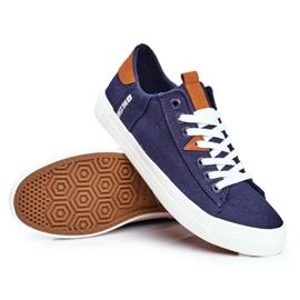 Men's Big Star Sneakers Navy Blue FF174313 5