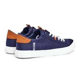 Men's Big Star Sneakers Navy Blue FF174313 2