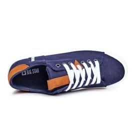 Men's Big Star Sneakers Navy Blue FF174313 3