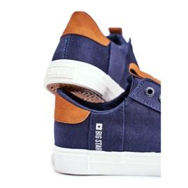 Men's Big Star Sneakers Navy Blue FF174313 4