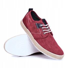 Big Star Espadrilles Red Men's Sneakers FF174151 5