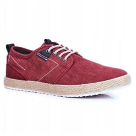 Big Star Espadrilles Red Men's Sneakers FF174151 1