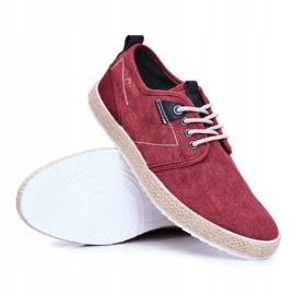 Big Star Espadrilles Red Men's Sneakers FF174151 2
