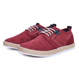 Big Star Espadrilles Red Men's Sneakers FF174151 3