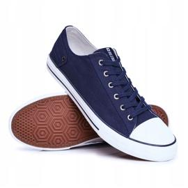 Men's Sneakers Big Star Navy Blue DD174270 5