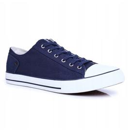 Men's Sneakers Big Star Navy Blue DD174270 1