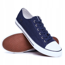Men's Sneakers Big Star Navy Blue DD174270 2