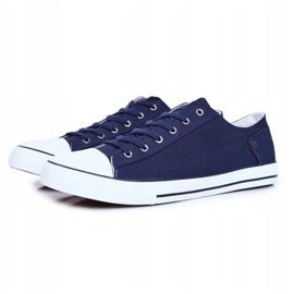 Men's Sneakers Big Star Navy Blue DD174270 3