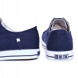 Men's Sneakers Big Star Navy Blue DD174270 4