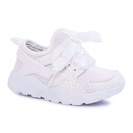 FRROCK Youth Children's Sports Shoes White Fairy Tales 3