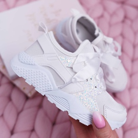FRROCK Youth Children's Sports Shoes White Fairy Tales 2
