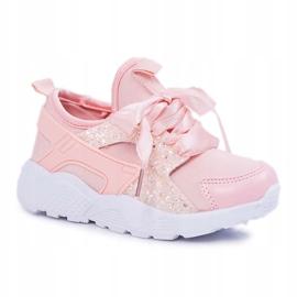 FRROCK Youth Children's Sports Shoes Pink Bajka 3