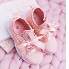 FRROCK Youth Children's Sports Shoes Pink Bajka 1