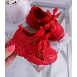 FRROCK Children's Sports Shoes Youth Red Bajka 4