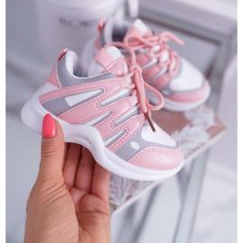 Nathie Pink Kids' Sport Shoes 2
