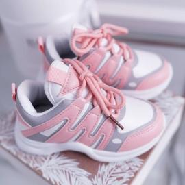 Nathie Pink Kids' Sport Shoes 3