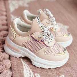 FRROCK Matilda Children's Sports Shoes Pink 1