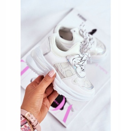 FRROCK Matilda White Snake Sports Shoes 2