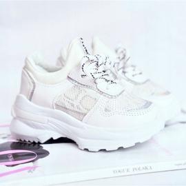 FRROCK Matilda White Snake Sports Shoes 1