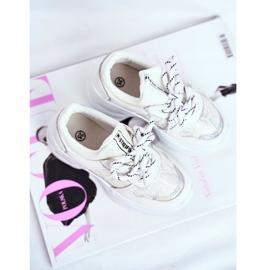 FRROCK Matilda White Snake Sports Shoes 3