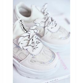FRROCK Matilda White Snake Sports Shoes 4