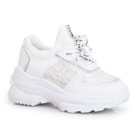 FRROCK Matilda White Snake Sports Shoes 5