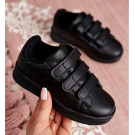 FRROCK Youth Sports Footwear With Velcro Black Fifi 1