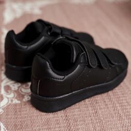 FRROCK Youth Sports Footwear With Velcro Black Fifi 4