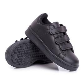 FRROCK Youth Sports Footwear With Velcro Black Fifi 5