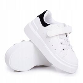 FRROCK Youth Bilbo Sports Velcro Footwear white black 13