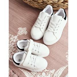 FRROCK Youth Bilbo Sports Velcro Footwear white black 10