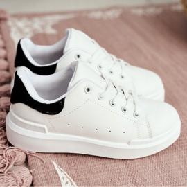 FRROCK Youth Bilbo Sports Velcro Footwear white black 7