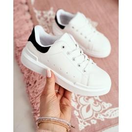 FRROCK Youth Bilbo Sports Velcro Footwear white black 8