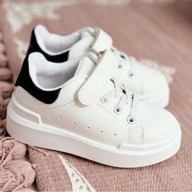 FRROCK Youth Bilbo Sports Velcro Footwear white black 11