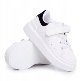 FRROCK Youth Bilbo Sports Velcro Footwear white black 4