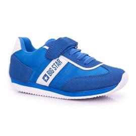 Big Star Sport Shoes For Men Velcro Blue FF374133 1