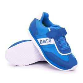 Big Star Sport Shoes For Men Velcro Blue FF374133 3