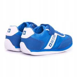 Big Star Sport Shoes For Men Velcro Blue FF374133 2
