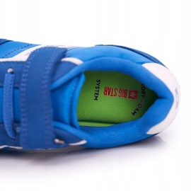 Big Star Sport Shoes For Men Velcro Blue FF374133 5