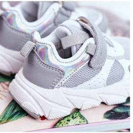 Gray Children's Sport Shoes ABCKIDS B011104349 white grey 3