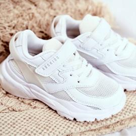 White Children's Sport Shoes Abckids B933204077 3