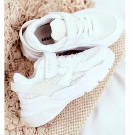 White Children's Sport Shoes Abckids B933204077 4