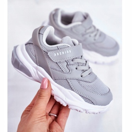 Gray Children's Sport Shoes Abckids B933204077 grey 3