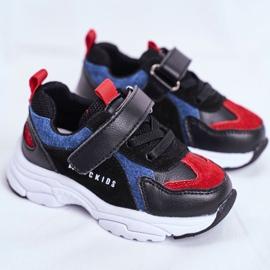 Sport Children's Shoes Black Navy Blue ABCKIDS B932104063 1