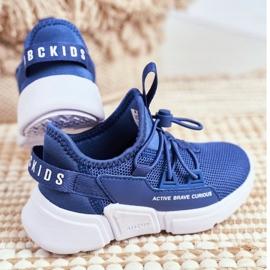 Sport Children's Shoes Navy Blue ABCKIDS B012210073 3