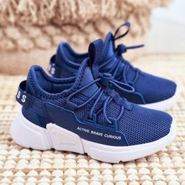 Sport Children's Shoes Navy Blue ABCKIDS B012210073 1