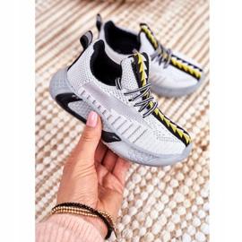 FRROCK Gray Children's Stitch Sport Shoes grey 1